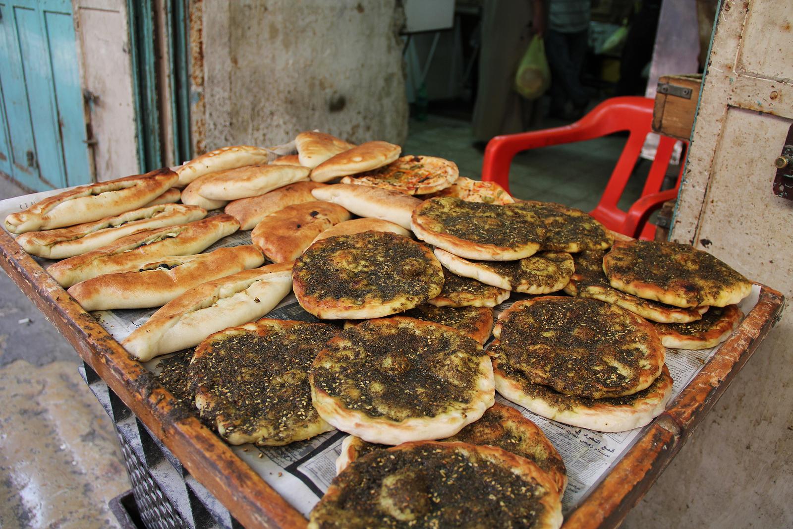 pita, breads, Israel, zaatar, spice, seasoning,